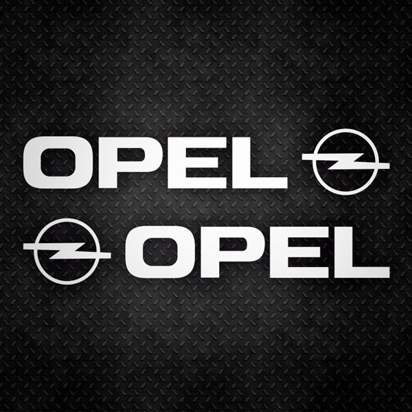 Car & Motorbike Stickers: Opel Logo