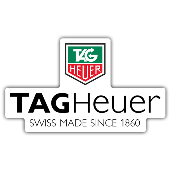 Car & Motorbike Stickers: Tag Heuer 1860 0