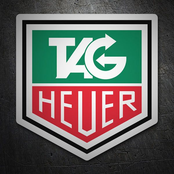 Car & Motorbike Stickers: Tag Heuer logo