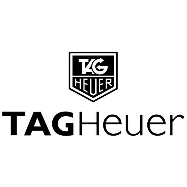 Car & Motorbike Stickers: Tag Heuer Since 1860
