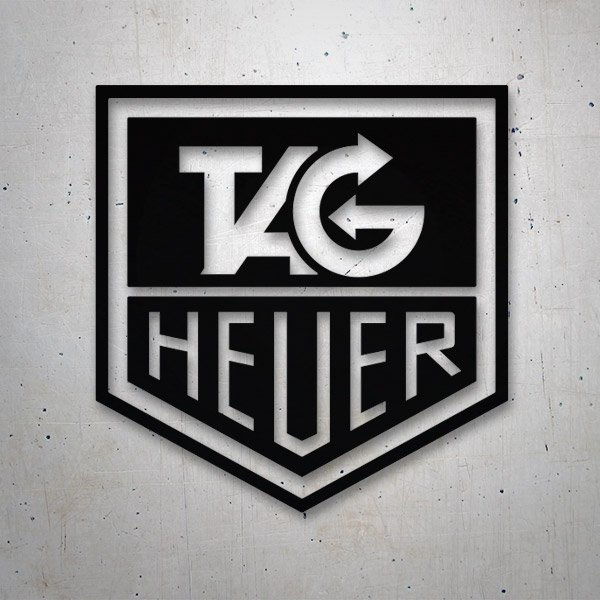 Car & Motorbike Stickers: Tag Heuer