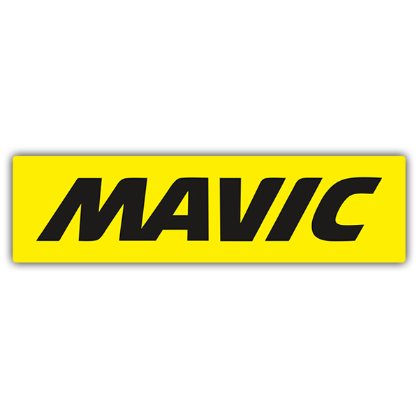 Car & Motorbike Stickers: Mavic