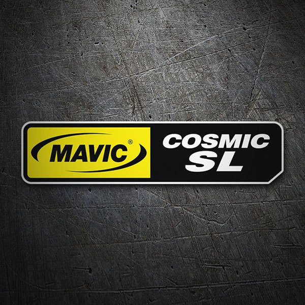 Car & Motorbike Stickers: Mavic Cosmic SL