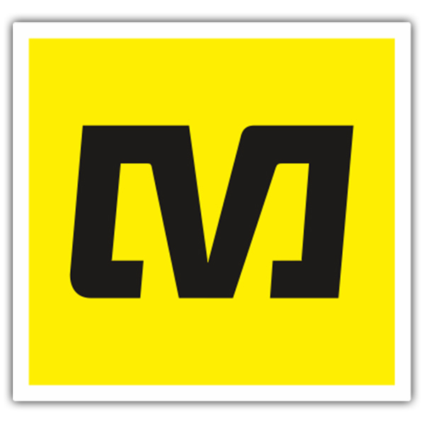 Car & Motorbike Stickers: M - Mavic