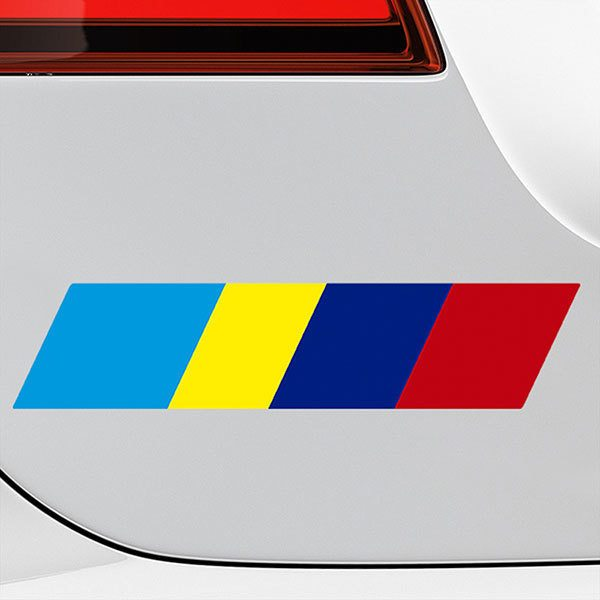 Car & Motorbike Stickers: Strip kit Peugeot Sport