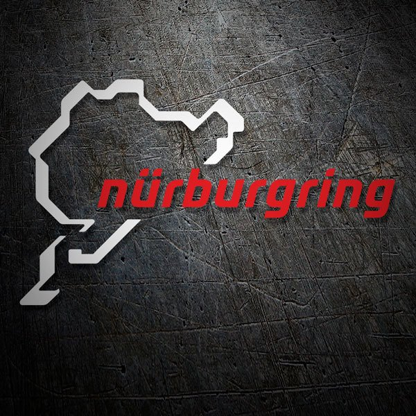 Car & Motorbike Stickers: Nürburgring