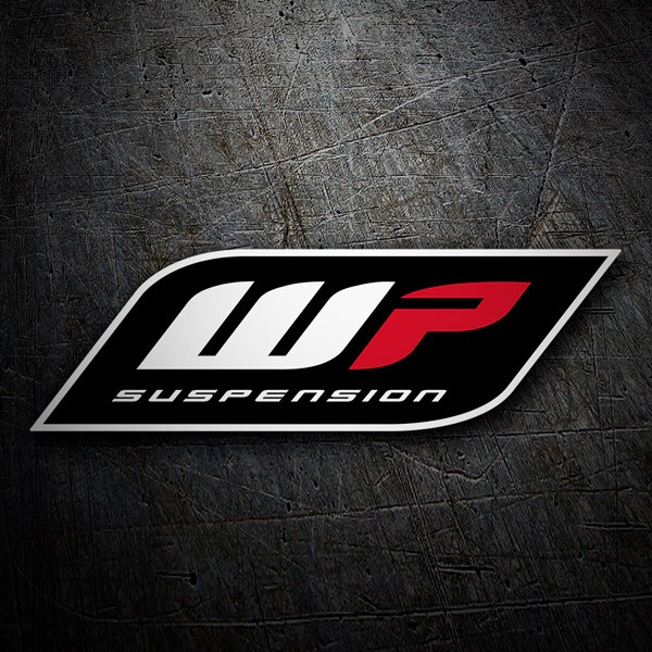 Car & Motorbike Stickers: Suspension WP