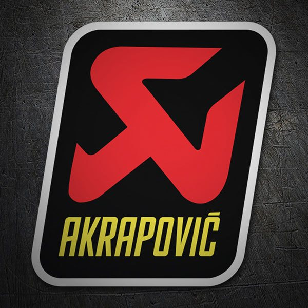 Car & Motorbike Stickers: Akrapovic Logo 1