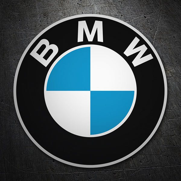 Car & Motorbike Stickers: BMW