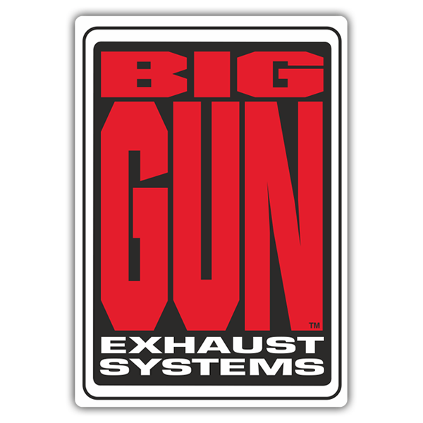 Car & Motorbike Stickers: Big Gun Exhaust Systems