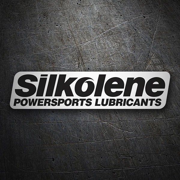 Car & Motorbike Stickers: Silkolene Powersports Lubricants 1
