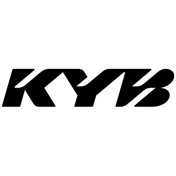 Car & Motorbike Stickers: KYB Logo