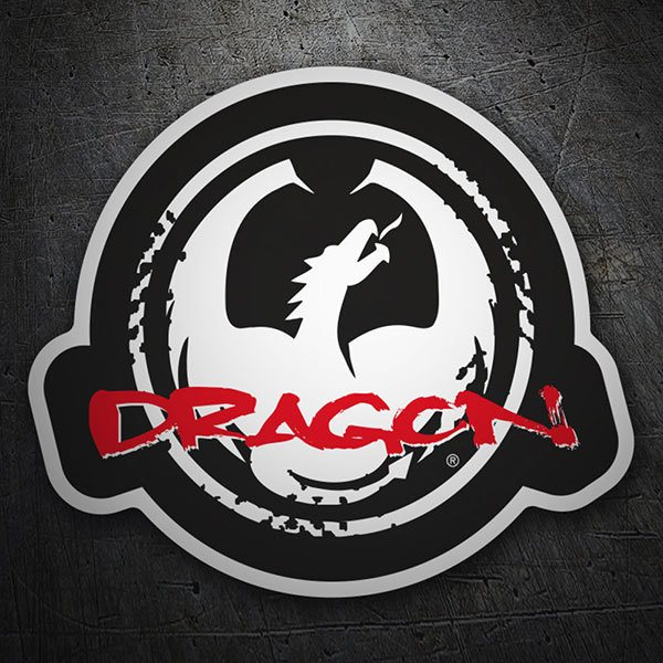 Car & Motorbike Stickers: Dragon Alliance Logo
