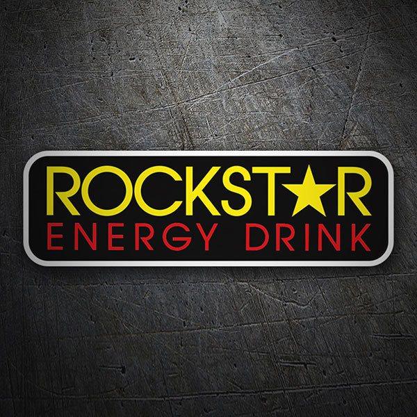 Sticker Rockstar Energy Drink Logo | MuralDecal com