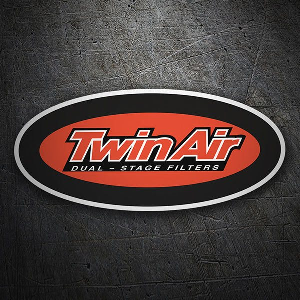 Car & Motorbike Stickers: Twin Air 1