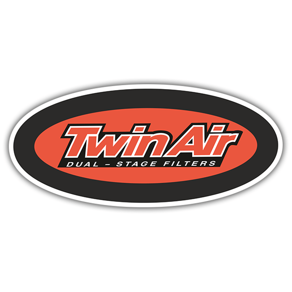 Car & Motorbike Stickers: Twin Air