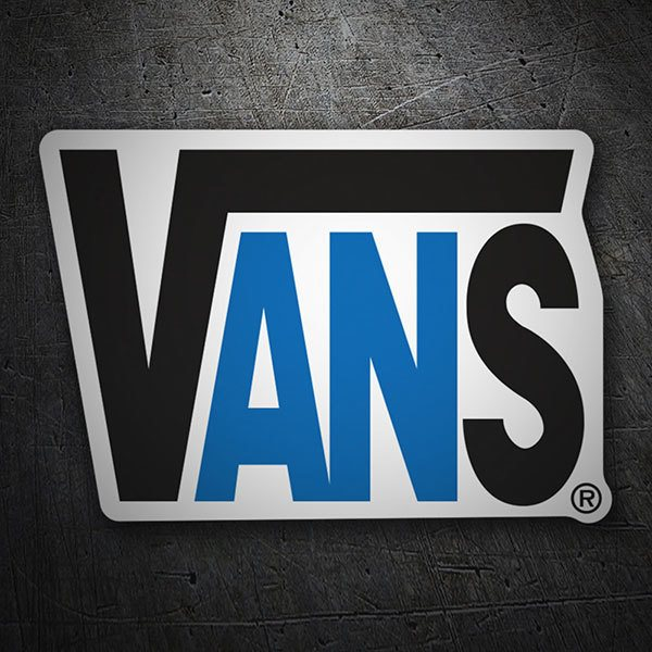 Car & Motorbike Stickers: Vans Logo