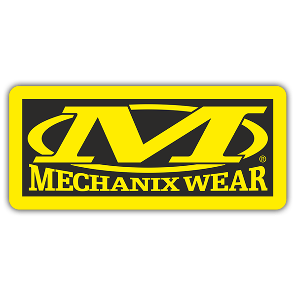 Car & Motorbike Stickers: Mechanix Wear