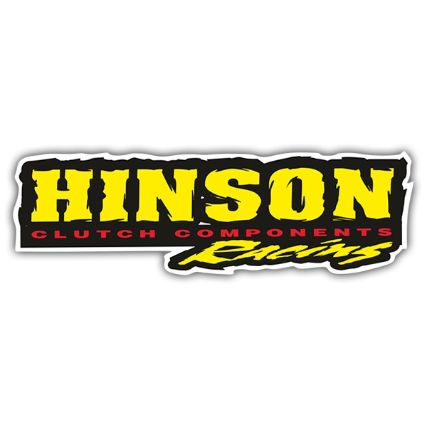 Car & Motorbike Stickers: Hinson Clutch Components