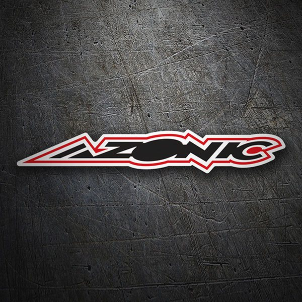 Car & Motorbike Stickers: Azonic 1