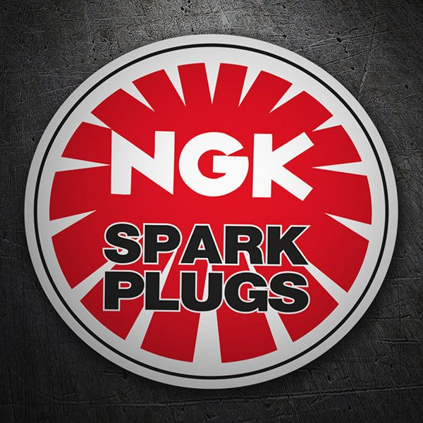 Car & Motorbike Stickers: NGK Patch