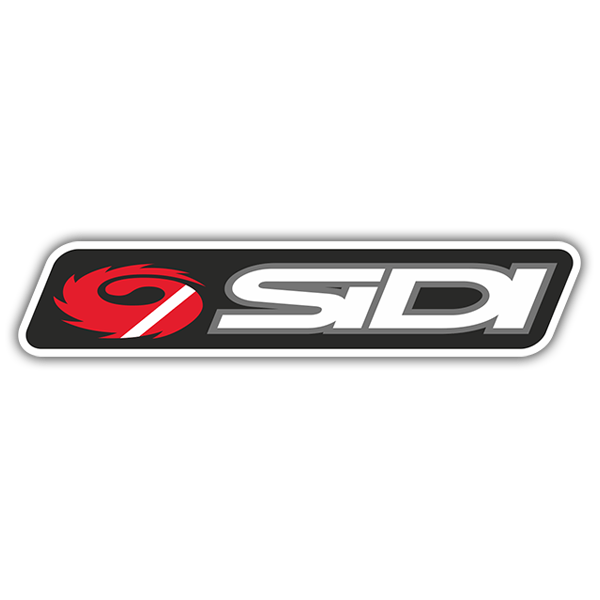 Car & Motorbike Stickers: Sidi Logo