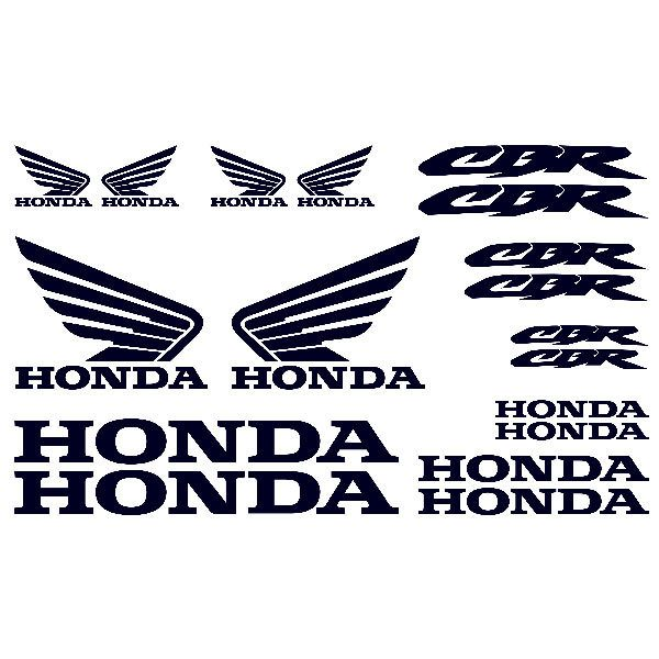 Car & Motorbike Stickers: Kit Honda CBR Racing