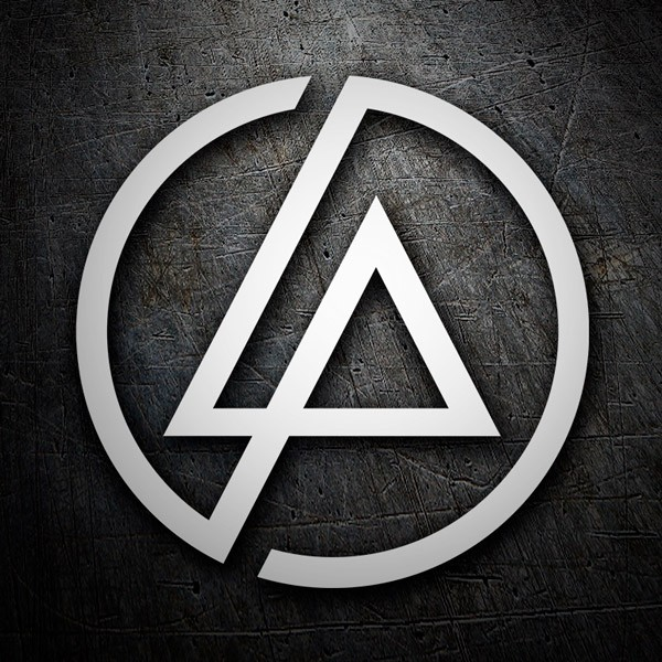Car & Motorbike Stickers: Linkin Park logo
