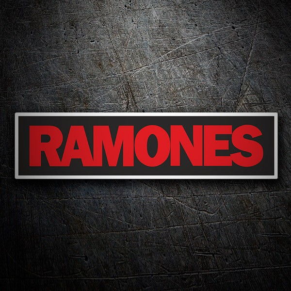 Car & Motorbike Stickers: Ramones Red