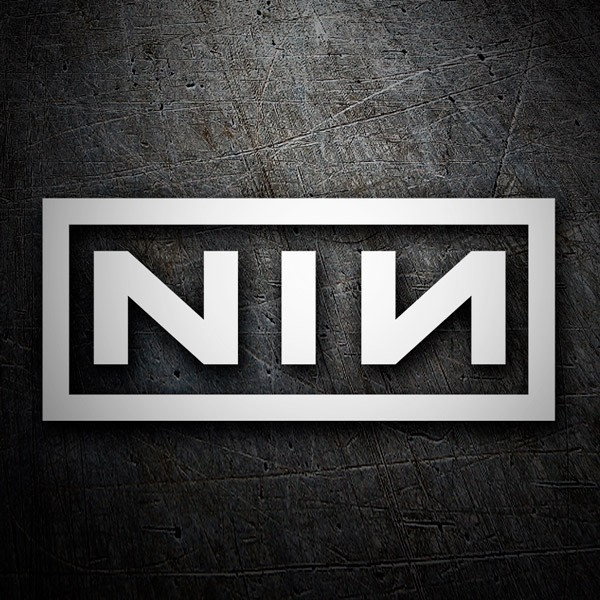 Car and Motorbike Stickers: Nine Inch Nails
