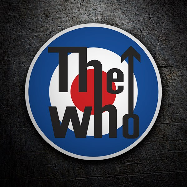 Car and Motorbike Stickers: The Who logo