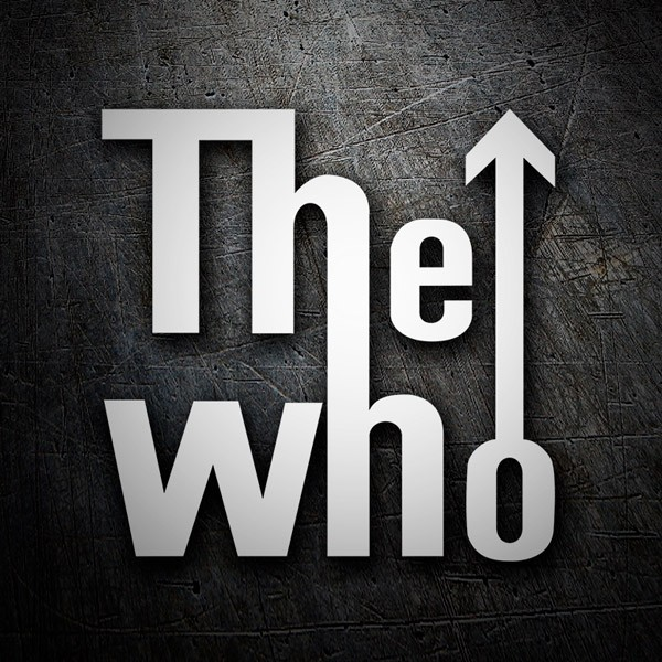 Car and Motorbike Stickers: The Who