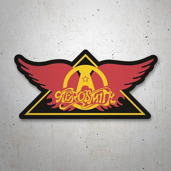 Car & Motorbike Stickers: Aerosmith Classic
