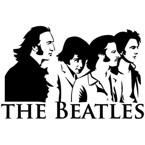 Car & Motorbike Stickers: The Beatles Classic