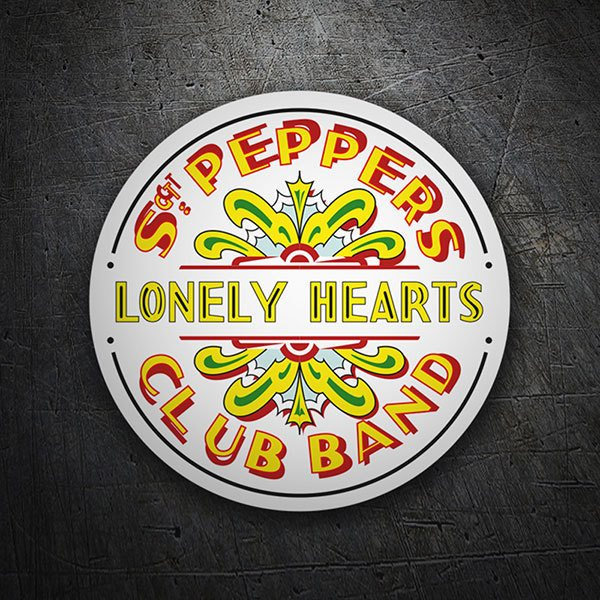 Car & Motorbike Stickers: Sgt. Pepper's Lonely Hearts Club Band