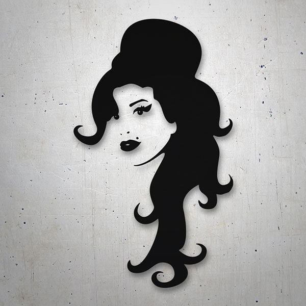 Car & Motorbike Stickers: Amy Winehouse