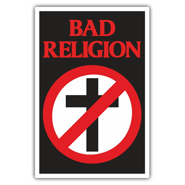 Car & Motorbike Stickers: Bad Religion