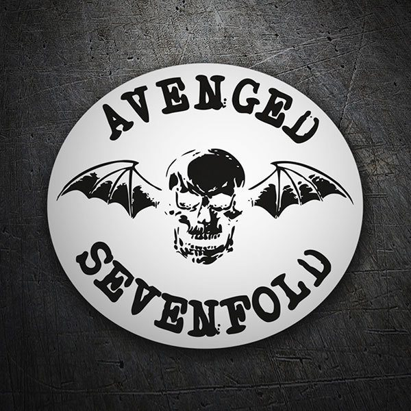 Car & Motorbike Stickers: Avenged Sevenfold