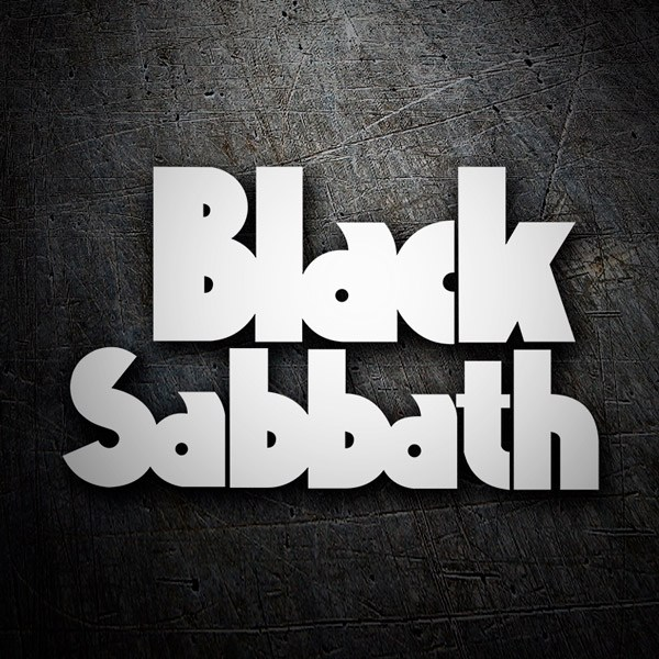 Car & Motorbike Stickers: Black Sabbath Classic