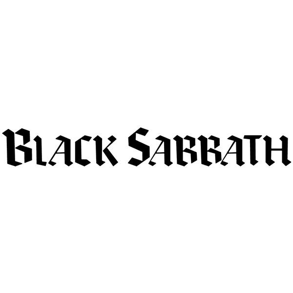 Car & Motorbike Stickers: Black Sabbath