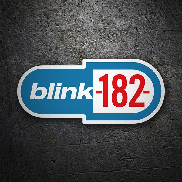 Car & Motorbike Stickers: Blink 182 Classic