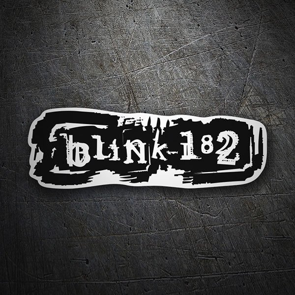 Car & Motorbike Stickers: Blink 182 Riot