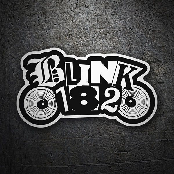 Car & Motorbike Stickers: Blink 182 Speakers