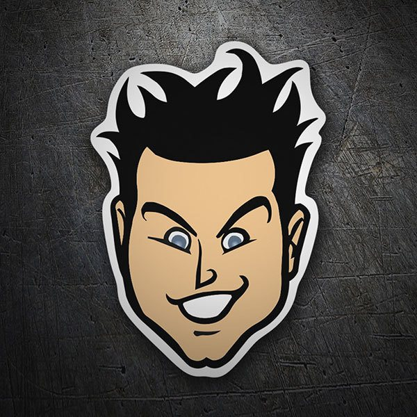 Car & Motorbike Stickers: Blink 182 Bass