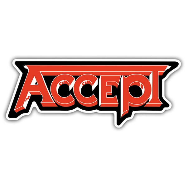 Car & Motorbike Stickers: Accept