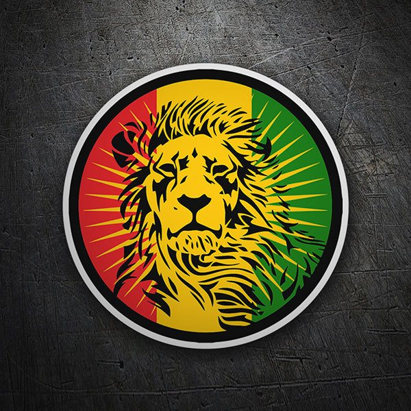 Car & Motorbike Stickers: Lion of Judah