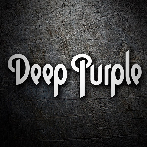 Car & Motorbike Stickers: Deep Purple