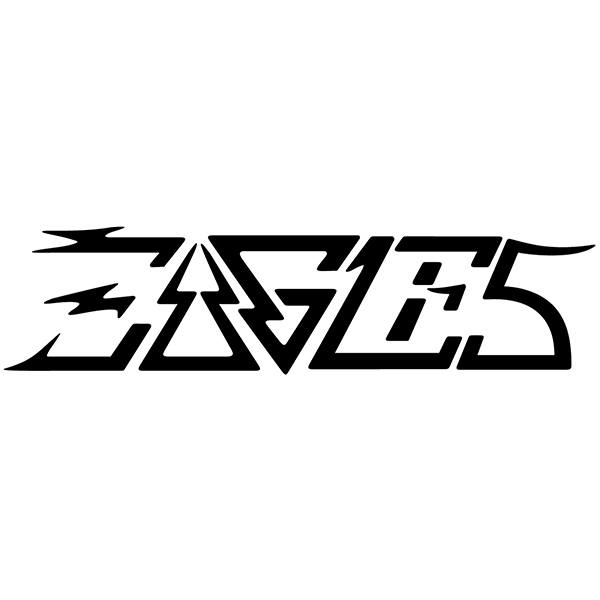 Car & Motorbike Stickers: Eagles
