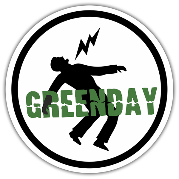 Car & Motorbike Stickers: Green Day Danger
