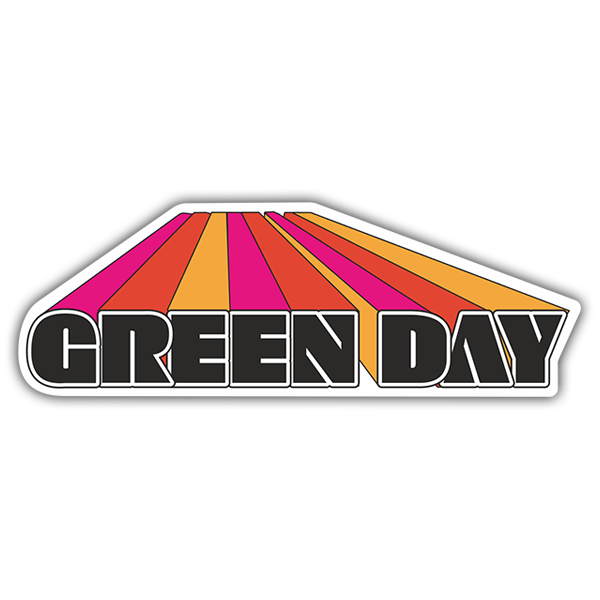 Car & Motorbike Stickers: Green Day